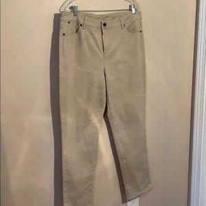 Talbots heritage slim ankle pants